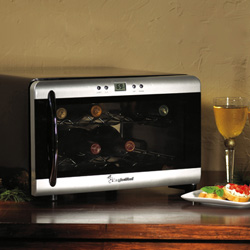 Magic Chef 8 Bottle Wine Cooler Countertop Mcwc8dct2